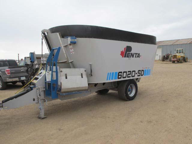 Penta 6020 vertical mixer   Farm Equipment>Mixers>Vertical Feed Mixers - 1
