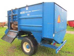 SAC 6035 reel mixer wagon | Farm Equipment>Mixers>Reel Feed Mixers - 1