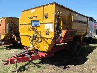 Knight 3042 Reel Mixer Wagon | Farm Equipment>Mixers>Reel Feed Mixers - 1