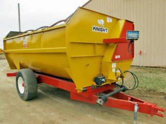 Knight 3550 reel mixer wagon | Farm Equipment>Mixers>Reel Feed Mixers - 1