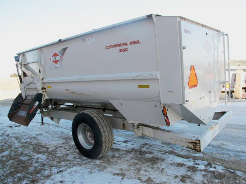 Knight 3160 reel mixer wagon | Farm Equipment>Mixers>Reel Feed Mixers - 6