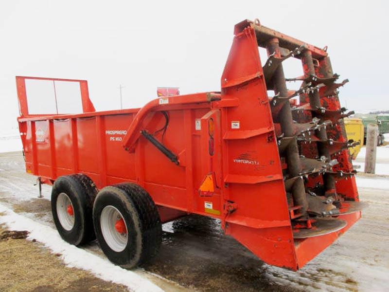 Knight PS160 vertical beater manure spreader | Farm Equipment>Manure Spreaders - 6