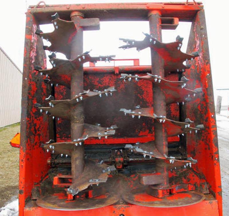 Knight PS160 vertical beater manure spreader | Farm Equipment>Manure Spreaders - 5
