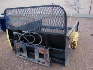 MDS Roto King RK500 bale shredder