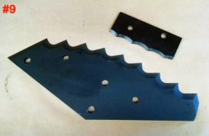 Auger Feed Mixer Knives