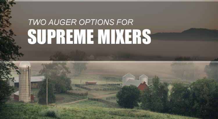 Supreme Mixer Wagon Augers