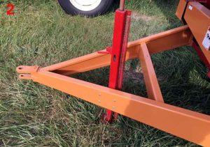 Bunk Feeder Jack | Farm Equipment Parts>Bunk Feeder Wagon Parts>Hitches & Jacks - 2
