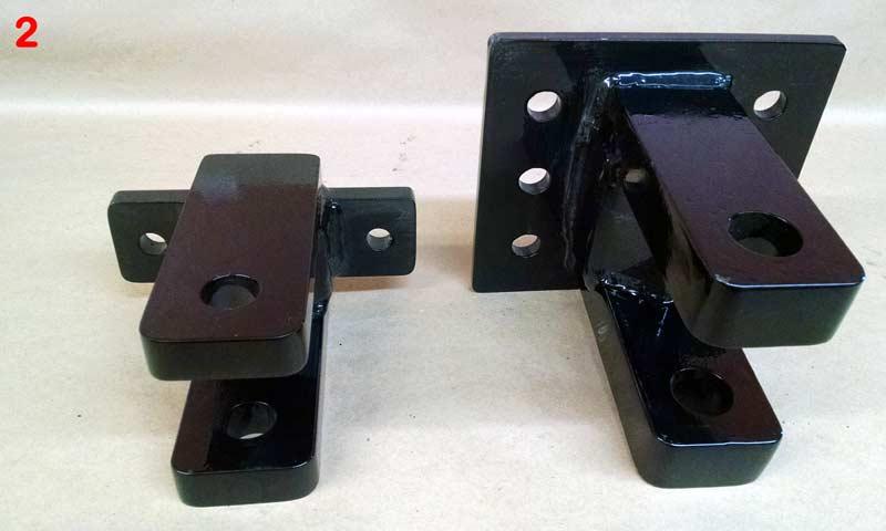 Clevis Hitch | Farm Equipment Parts>Manure Spreader Parts>Slinger Liquid Spreader Parts>Hitches & Jacks - 1