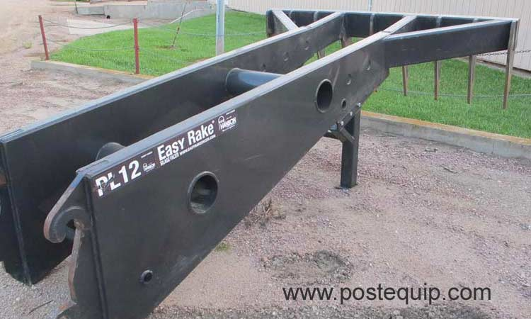 Easy Rake Silage Facer at Post Equipment