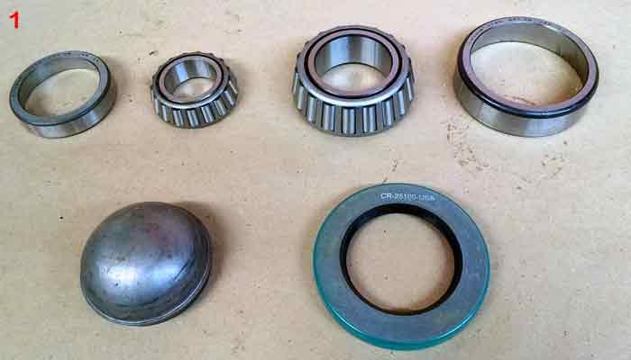 Farm Implement Hub Bearings : Wheel bearings and hub caps for sale post equipment