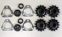 Henke Sprockets and Bearings | Farm Equipment Parts>Best Selling Parts>Discharge and Roller Chain - 2
