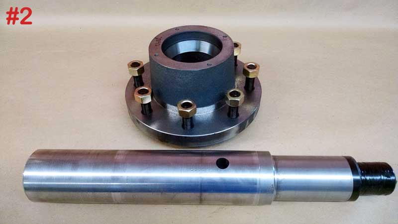 Spindles | Farm Equipment Parts>Vertical TMR Parts>Wheels