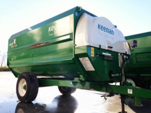 Keenan Mech Fiber 320 Reel Mixer | Farm Equipment>Mixers>Reel Feed Mixers - 1