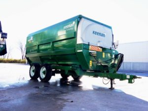 Keenan Mech Fiber 360 Reel Mixer | Farm Equipment>Mixers>Reel Feed Mixers - 1