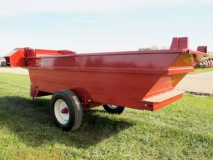 Kelly Ryan 5x14 bunk feeder wagon