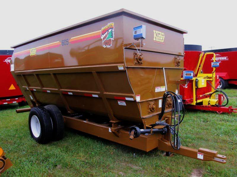 Kirby 605 4-auger mixer wagon | Farm Equipment>Mixers>Misc. Feed Mixers - 1