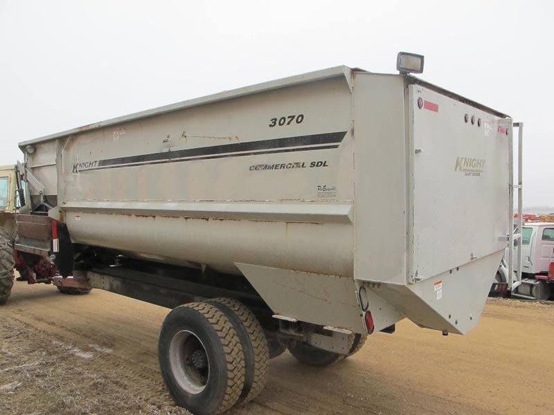 Knight 3070 Reel Mixer Truck Mount | Farm Equipment>Mixers>Reel Feed Mixers - 6