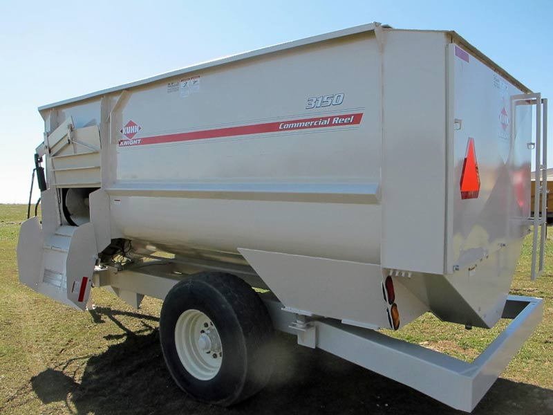 Knight Kuhn 3150 reel mixer feeder wagon | Farm Equipment>Mixers>Reel Feed Mixers - 6