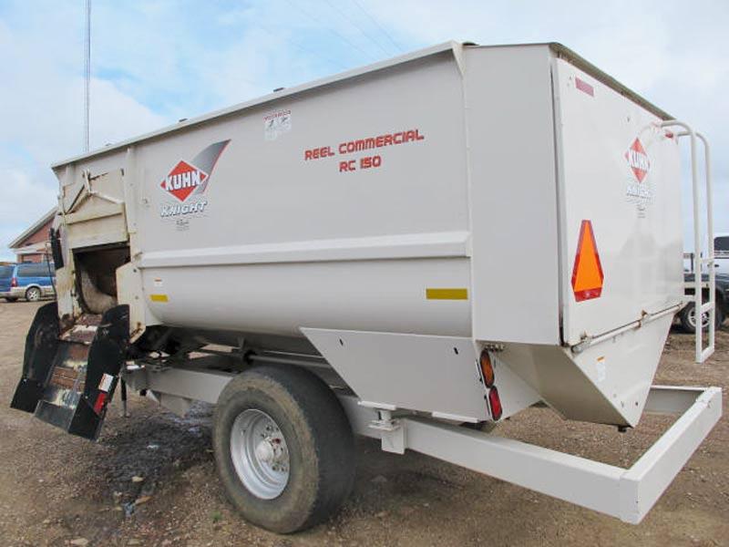 Knight RC 150 reel mixer wagon   Farm Equipment>Mixers>Reel Feed Mixers - 6