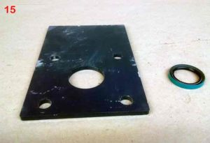 Seal Plate | Farm Equipment Parts>Manure Spreader Parts>Slinger Liquid Spreader Parts>Oil Bath Parts and Bearings - 1