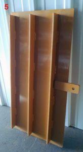 Reel Mixer Discharge Doors