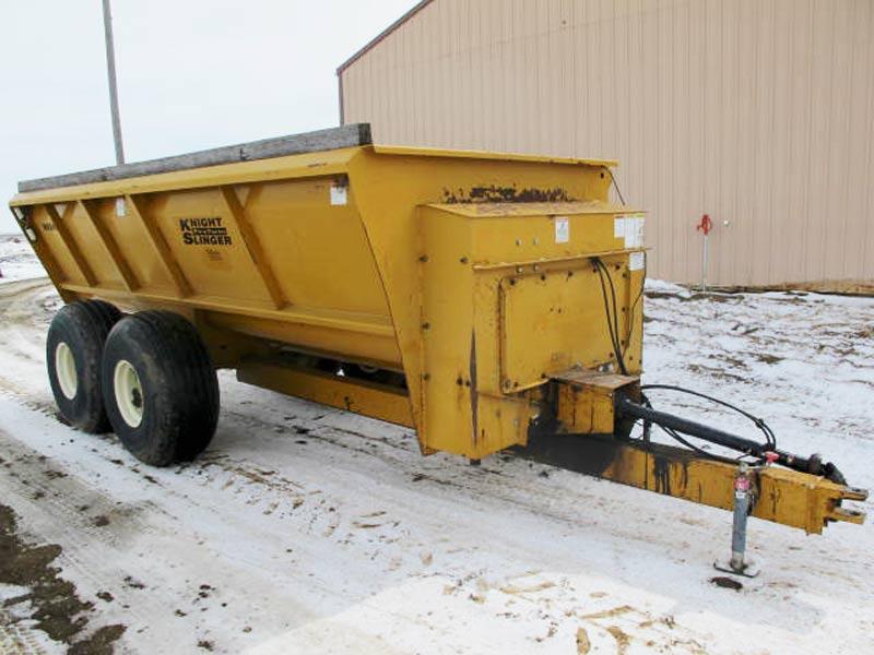 knight 8024 manure spreader | Farm Equipment>Manure Spreaders - 1