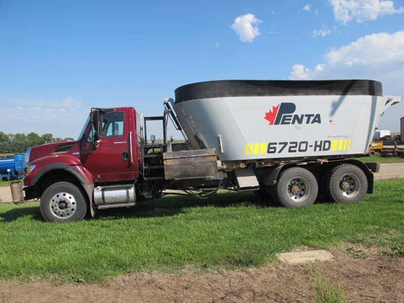 Penta 6720 vertical mixer truck mount   Farm Equipment>Mixers>Vertical Feed Mixers - 1
