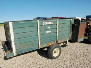 Schwart 150 Bunk Feed Wagon | Farm Equipment>Mixers>Misc. Feed Mixers - 1