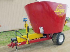 Segue/Supreme 4S vertical mixer wagon | Farm Equipment>Mixers>Vertical Feed Mixers - 1