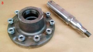 Hubs and Spindles   Farm Equipment Parts>Manure Spreader Parts>Slinger Liquid Spreader Parts>Wheels