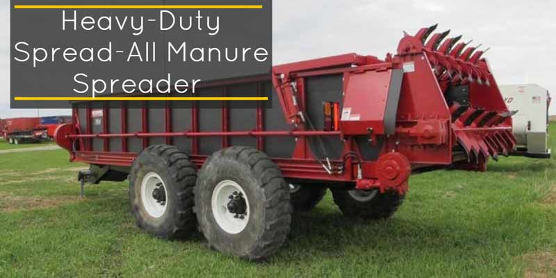 spread-all manure spreader