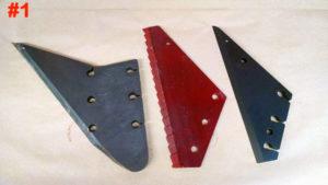 Backing plates | Farm Equipment Parts>Vertical TMR Parts>Augers