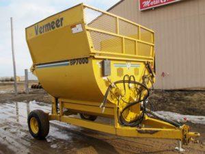 Vermer BP 7000 bale shredder