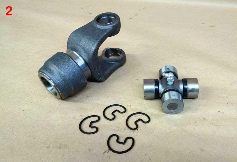 PTO Yokes and Bearing Kits | Farm Equipment Parts>3 and 4 Auger Mixer Parts>PTO