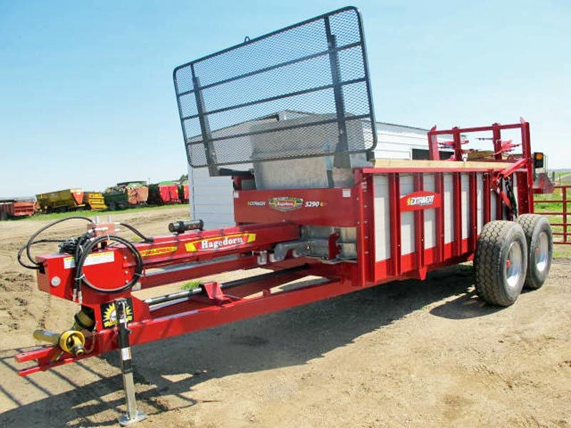 Hagedorn 5290 manure spreader | Farm Equipment>Manure Spreaders - 1