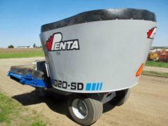 Penta 4020 vertical mixer wagon | Farm Equipment>Mixers>Vertical Feed Mixers - 6