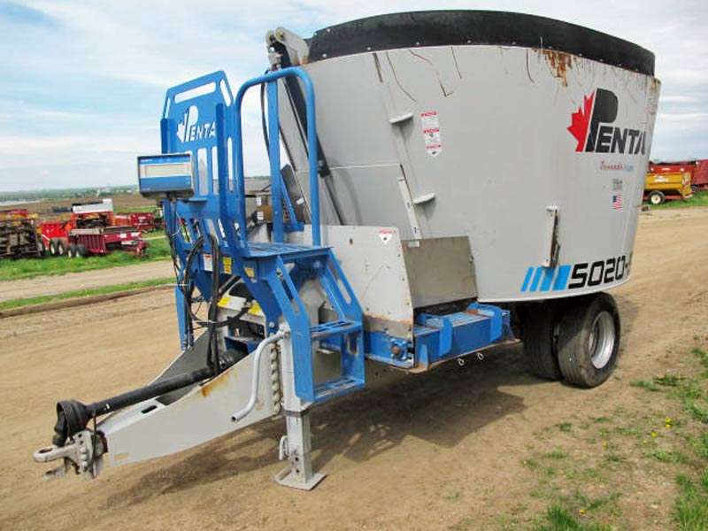 Penta 5020 SD vertical mixer wagon