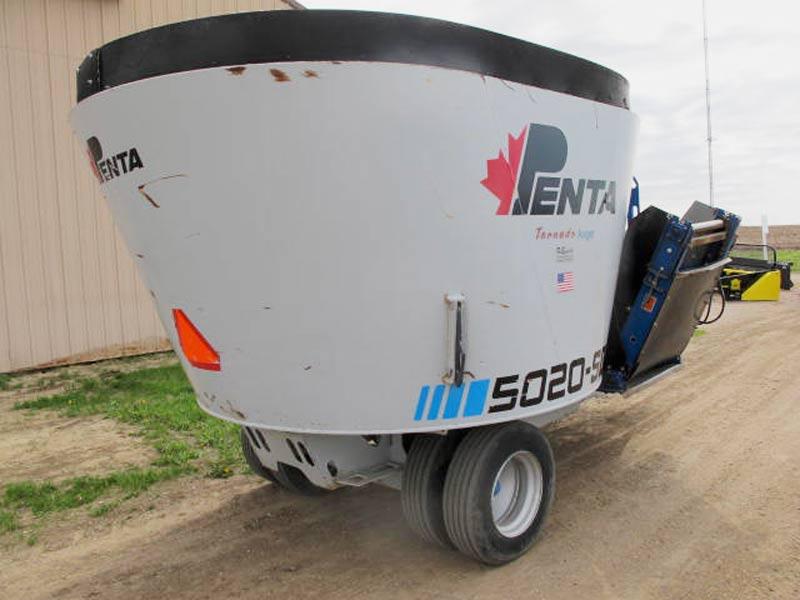 Penta 5020 SD vertical mixer wagon | Farm Equipment>Mixers>Vertical Feed Mixers - 6