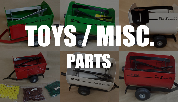 Post Equipment   Toys and Misc Parts