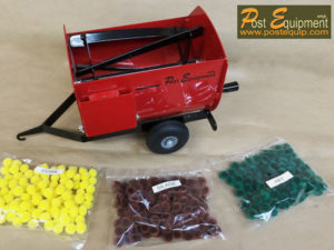 Red Lil' Mix Toy Feeder Wagon