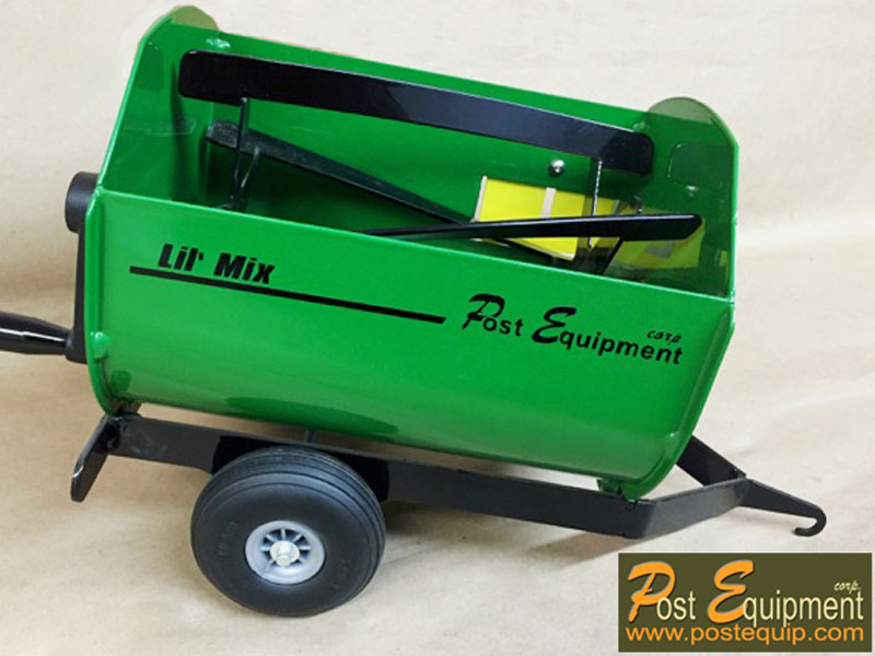 Green Lil' Mix Toy Feeder Wagon   Farm Equipment Parts>Toys / Misc Parts - 4