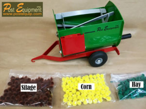 Green Lil' Mix Toy Feeder Wagon