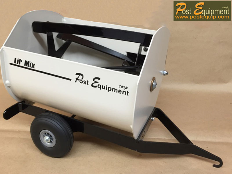 White Lil' Mix Toy Feeder Wagon | Farm Equipment Parts>Toys / Misc Parts - 4
