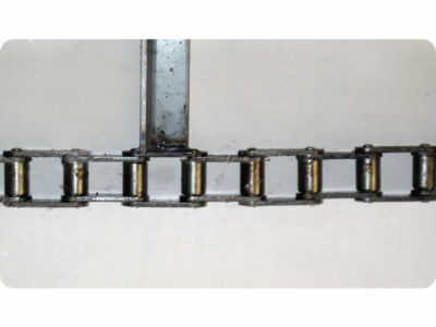 Discharge and Roller Chain