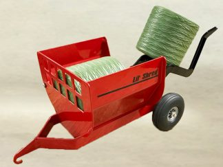 Red Lil' Shred Toy Bale Processor | Post Equipment - Farm Equipment and Farm Equipment Parts for Sale
