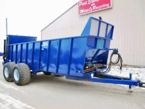 JBS 2248 Vertical Beater Manure Spreader