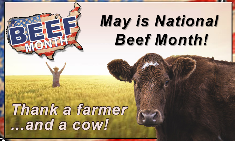 May is National Beef Month!