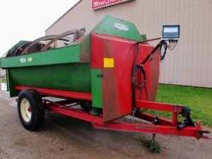 Farm Aid 340 reel mixer wagon