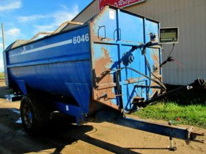 SAC 6046 Reel Mixer Wagon