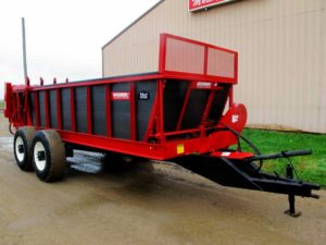 Spread All 16 ton manure spreader